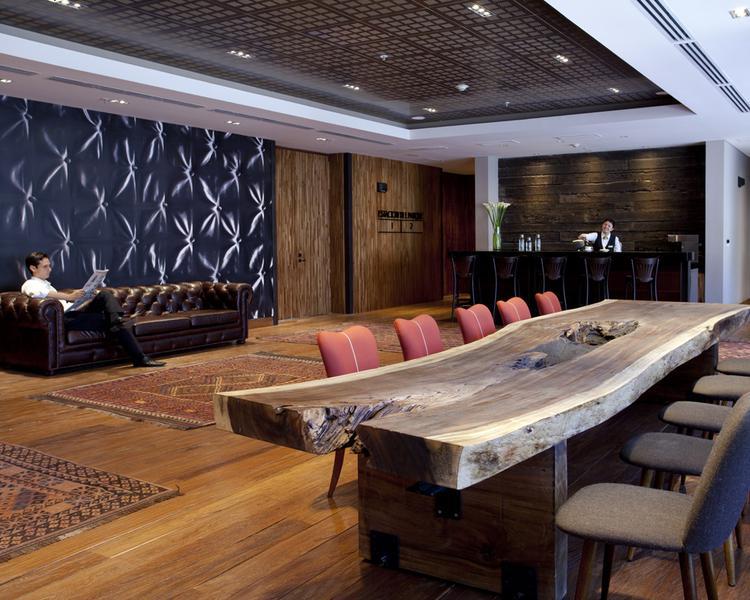 Lobby Hotel ESTELAR Parque de la 93 Bogotá