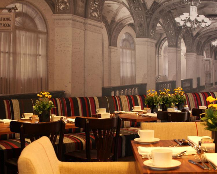Restaurante Hotel ESTELAR Parque de la 93 Bogotá