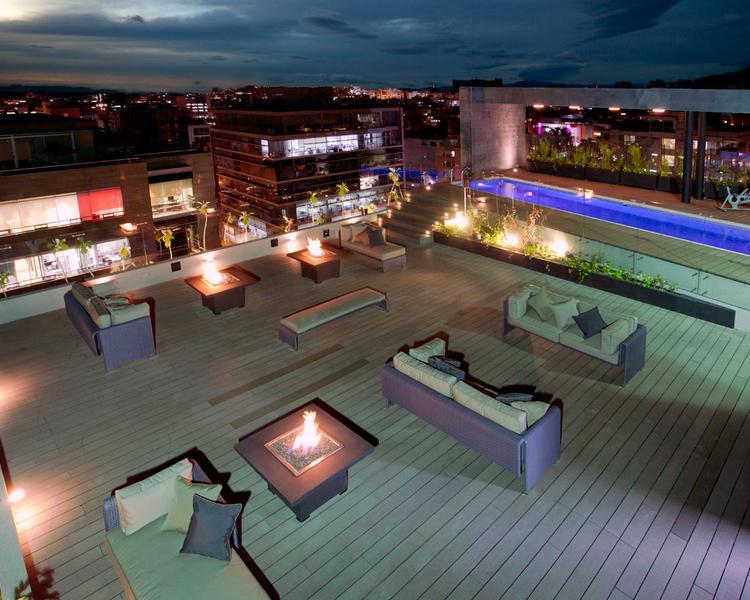 Terraza Hotel ESTELAR Parque de la 93 Bogotá